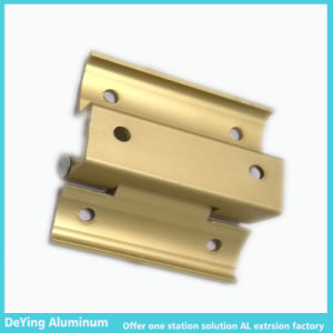 Competitive Aluminum/Aluminium Profile Hardware Anodizing in Yellow pictures & photos