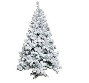 Flocked Snowing PVC Artificial Christmas Trees with 9 Sizes pictures & photos