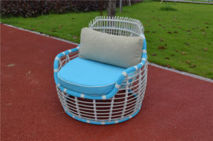 French Style Rattan Patio Garden Furniture with Trolley pictures & photos