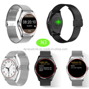 Newest Bluetooth Wrist Smart Watch with Heart Rate Monitor N3 pictures & photos