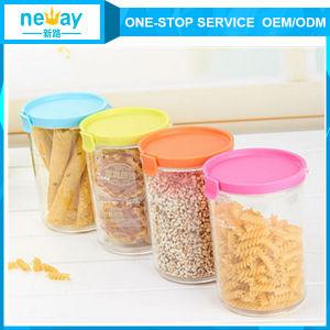 Neway Colorful Plastic Jar pictures & photos