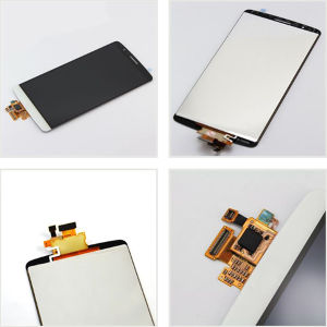 LCD Digitizer Touch Screen Assembly for LG G3 D850 D851 D855 Vs985 Ls990 White pictures & photos