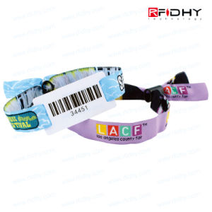 Adjustable Silicone Wristband/Proximity Wristband Tag for Party pictures & photos