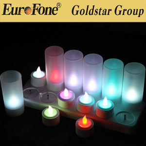 Hotest LED Flameless Remote RGB LED Light Candle pictures & photos