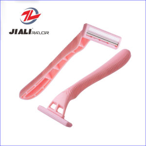 Twin Blades Disposable Shaving Razor Blade for Girl pictures & photos