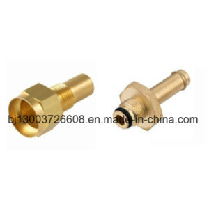 Brass Connector CNC Machining Turning Products pictures & photos