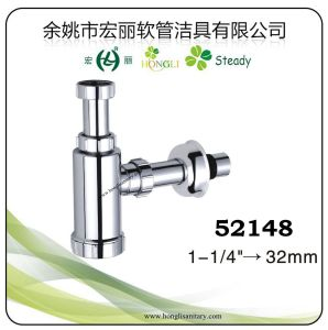 """1-1/4"""" and 1-1/2"""" ABS Chrome Plated P-Trap, Bottle Trap pictures & photos"""