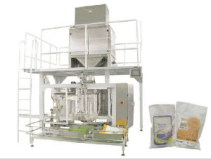 Banana Fried Chips Packing Machine with Conveyor Belt pictures & photos