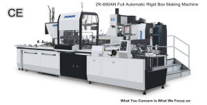 Paper Box Packaging Equipment (ZK-660AN) pictures & photos