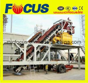 Yhzs75 Mobile Ready Mixed Concrete Plant with Sicoma Mixer pictures & photos
