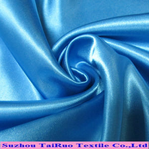100% Polyester Colorful Cheap Satin Fabric for Lning Fabric pictures & photos