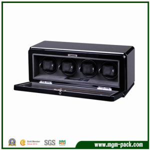 New Type Luxury Black Rectangle Wooden Watch Winder pictures & photos