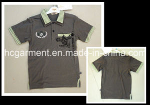 Children Garment Casual Polo Shirt for Boy, Kids Wear pictures & photos
