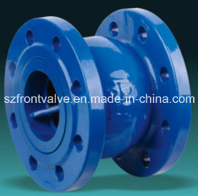 Cast Iron Flanged End Vertical Check Valve pictures & photos