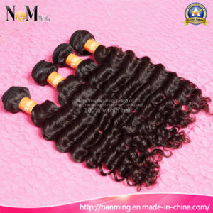 Wholesale Market Guangzhou Hair Brazilian Deep Wave Curly Virgin Remy Hair pictures & photos