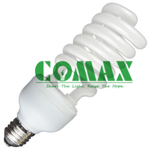 T4 12mm Half Spiral CFL 220V 45W Energy Saving Light pictures & photos