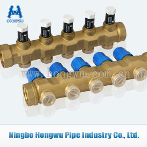 Drawn Brass Bar Linear Manifold pictures & photos