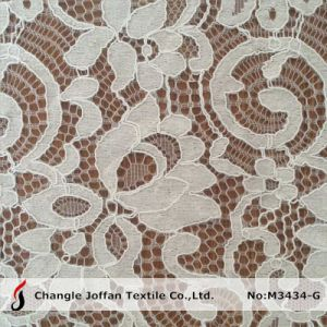 Raschel Corded Lace for Dresses (M3434-G) pictures & photos