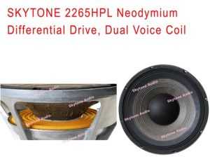 Hot-Selling 2265HPL 15′′ Speaker with Neodymium Magnet Driver Woofer pictures & photos