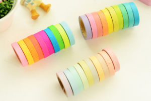 Fluorescent Washi Tape for Light Package pictures & photos