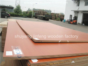 Poplar Material for Cabinet /Wardrobe /Kitchen 1220*2440mm Melamine MDF pictures & photos