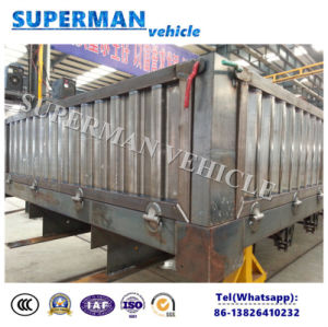 3 Axle Sidewall Stake Cargo Semi Truck Trailer pictures & photos