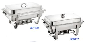 Rectangular Full Size Chafing Dish with 8L Food Pan (305117/301129) pictures & photos