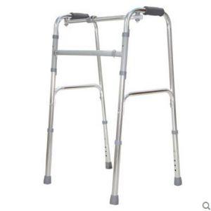Topmedi Medical Equipment Foldable Aluminum Walking Frame pictures & photos