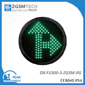 Direction Traffic Light Arrow Signal for Replacement Go Straight and Turn Right Green Color
