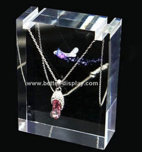 Wholesale Acrylic Necklace Display Stand pictures & photos