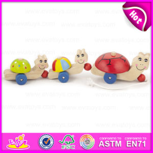 High Quality Creative Educational Toddler Toys Vehicle Drag and Pull Toy for Children W05b104 pictures & photos