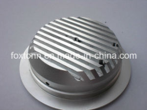 High Quality OEM Aluminum Cover for LED Light pictures & photos