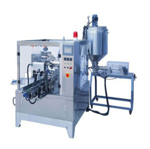 Automatic Liquid and Paste Bag Rotary Packing Machine (GD6-200) pictures & photos