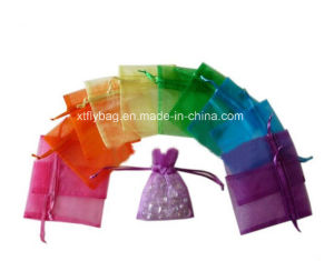 Differrent Size Recyclable Drawsting Bag Organza Bag Gift Bag pictures & photos