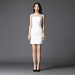 Women-White Dress Evening-Short Dress Fashion Party-Wedding Dress