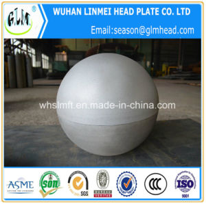 Sand Blasting Spherical Head/Hemispherical Head Tube End Cap pictures & photos