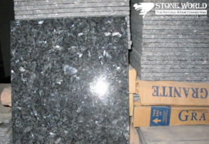 Polished Blue Pearl Granite Tile for Flooring/Wall pictures & photos
