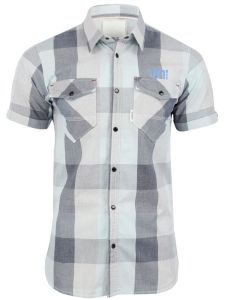 Mens Striped Casual Short Sleeve Slim Stylish Dress Shirts (A441) pictures & photos
