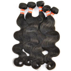 Peruvian Virgin Hair Extension Body Wave 22inch Human Hair Lbh 180 pictures & photos