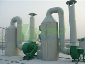 Water Spray+ Active Carbon Adsorption Type Exhaust Waste Gas Purification Tower (LB-FT) pictures & photos