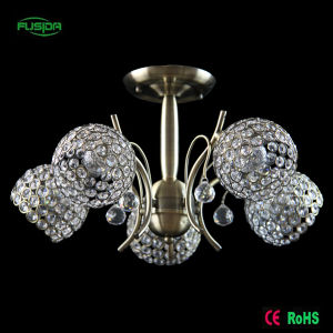 European Decorative Crystal Ball Handing Chandelier Ceiling Lighting for Home pictures & photos