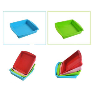 Big Size Silicone Pan for Cakes Pizza Bread DIY Cakes pictures & photos