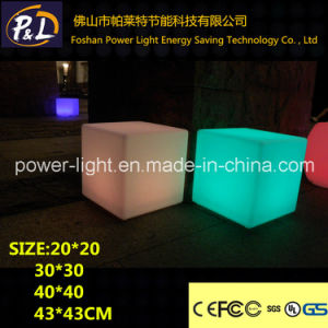 RGB Color Change Glowing LED Chair Furniture pictures & photos