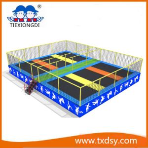 Indoor/Outdoor Large Cheap Adults Professional Bungee Trampoline Park for Sale pictures & photos