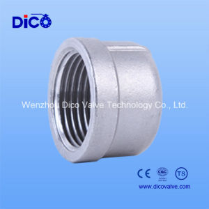Made in China Casting Pipe Fittings Ss304/Ss316L End Cap pictures & photos
