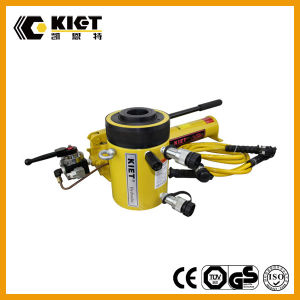 100 Ton Double Acting Hollow Plunger Hydraulic Jack pictures & photos