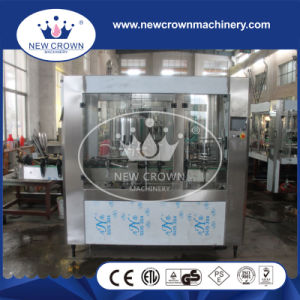 Automatic Rotary Can Filling Machine for Non Gass Liquid pictures & photos