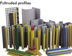 Pultruded Fibreglass Profiles, Pultruded GRP Profiles, Pultruded Profiles pictures & photos