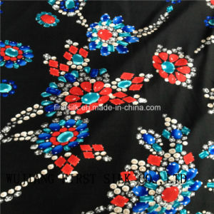 Silk Knitted Fabric pictures & photos