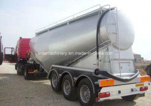 Bulk Cement Tanker Semi Trailer for Dry Powder